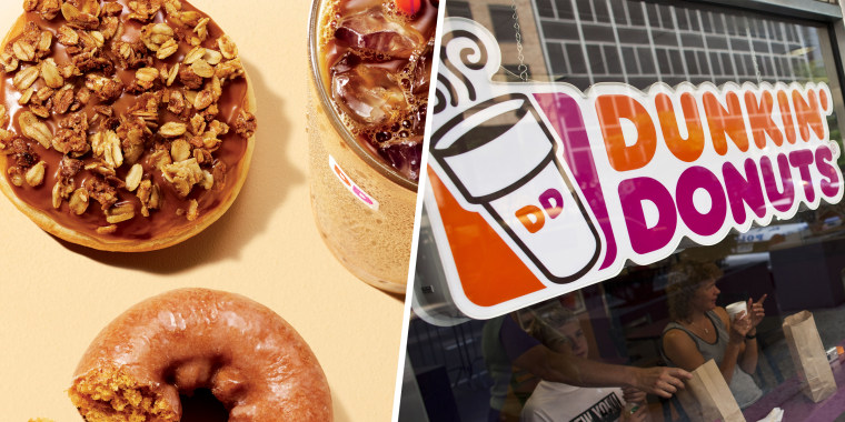 dunkin u0026 39  donuts to release fall menu on august 27