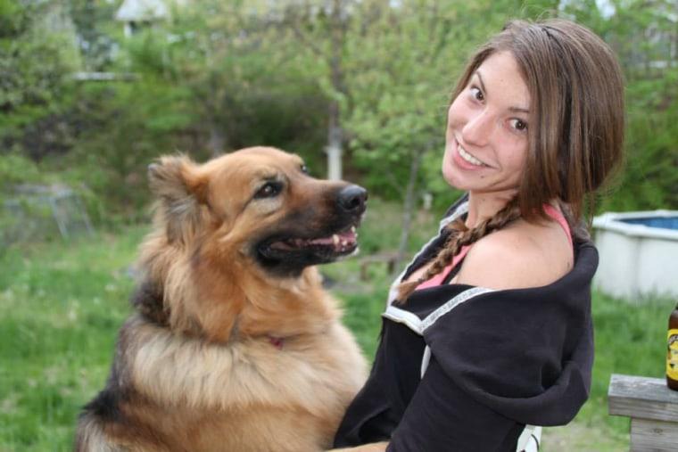 Nikki Tingley and Buddy