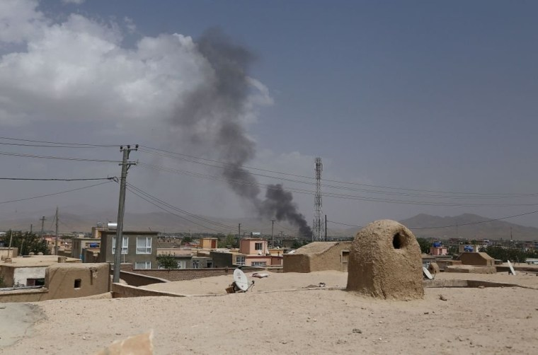 Militants launched an attack on the Afghan provincial capital of Ghazni.