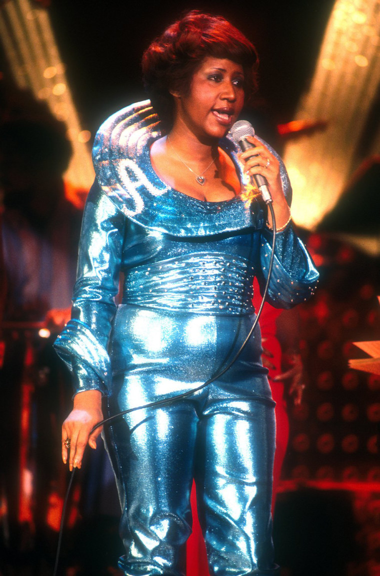 Image: Aretha Franklin in Concert circa 1972