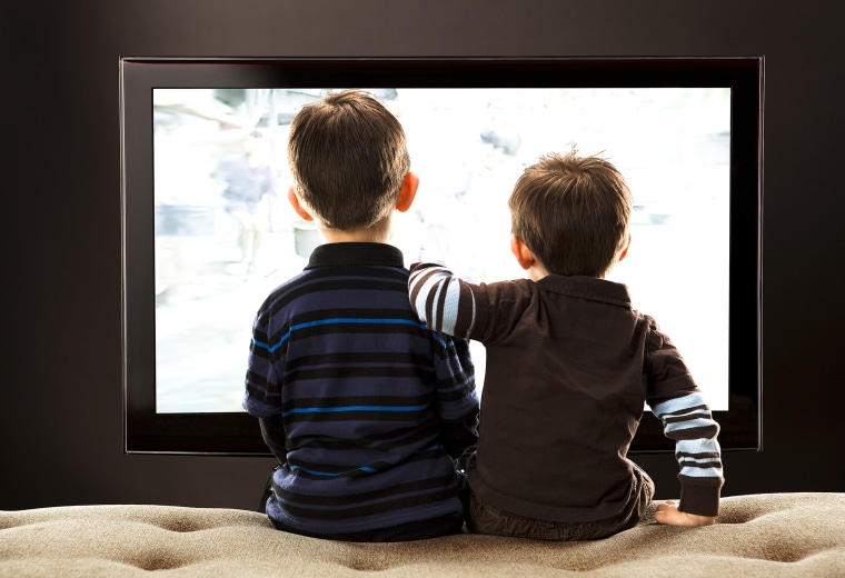 Image: Brothers Watching TV