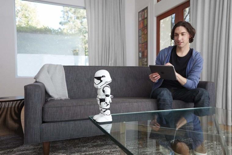 Best robots for kids:  UBTECH Star Wars First Order Stormtrooper Robot With Companion App