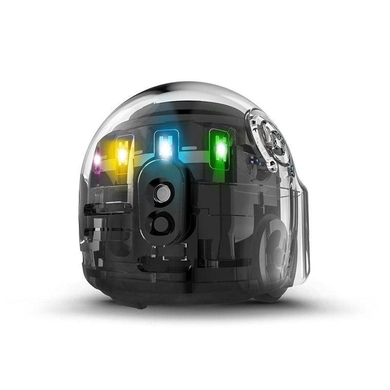 Best robot for kids: Ozobot Evo App-Connected Coding Robot (Black)