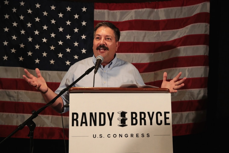 Image: WI Democratic Congressional Candidate Randy Bryce Holds Primary Night Event