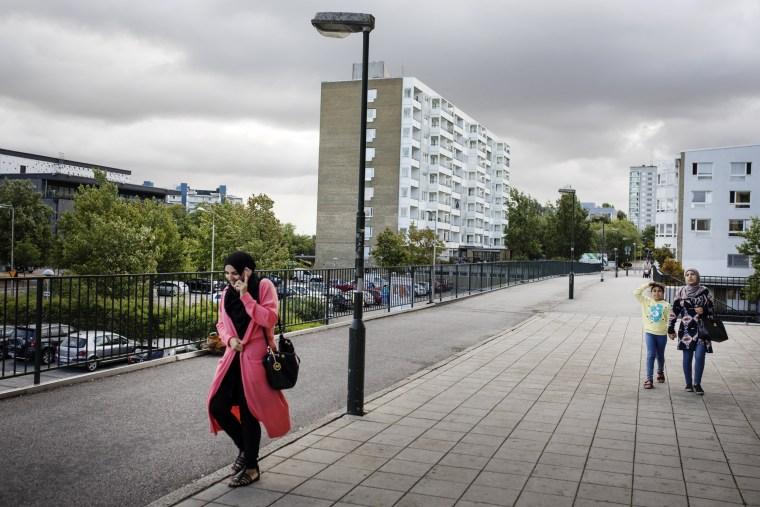 Image: The Rosengård suburb of Malmö, Sweden