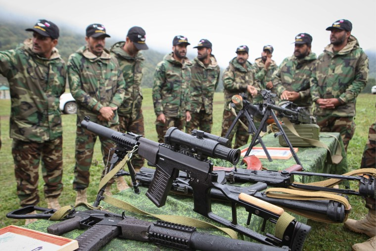 Pakistani troops take part in joint military drills with Russia