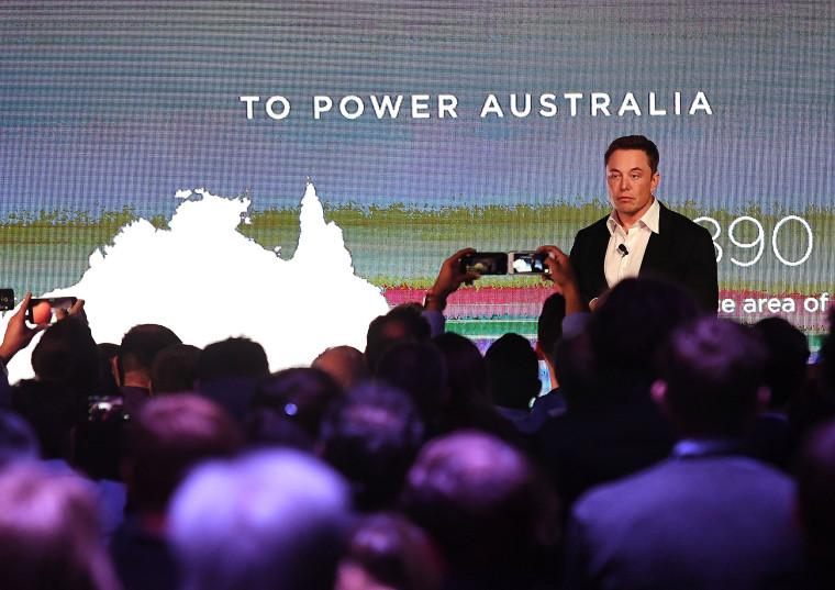 Image: Elon Musk Tesla