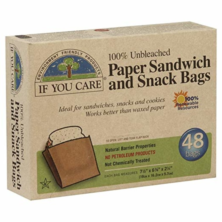 If You Care 100% Unbleached Paper Snack & Sandwich Bags