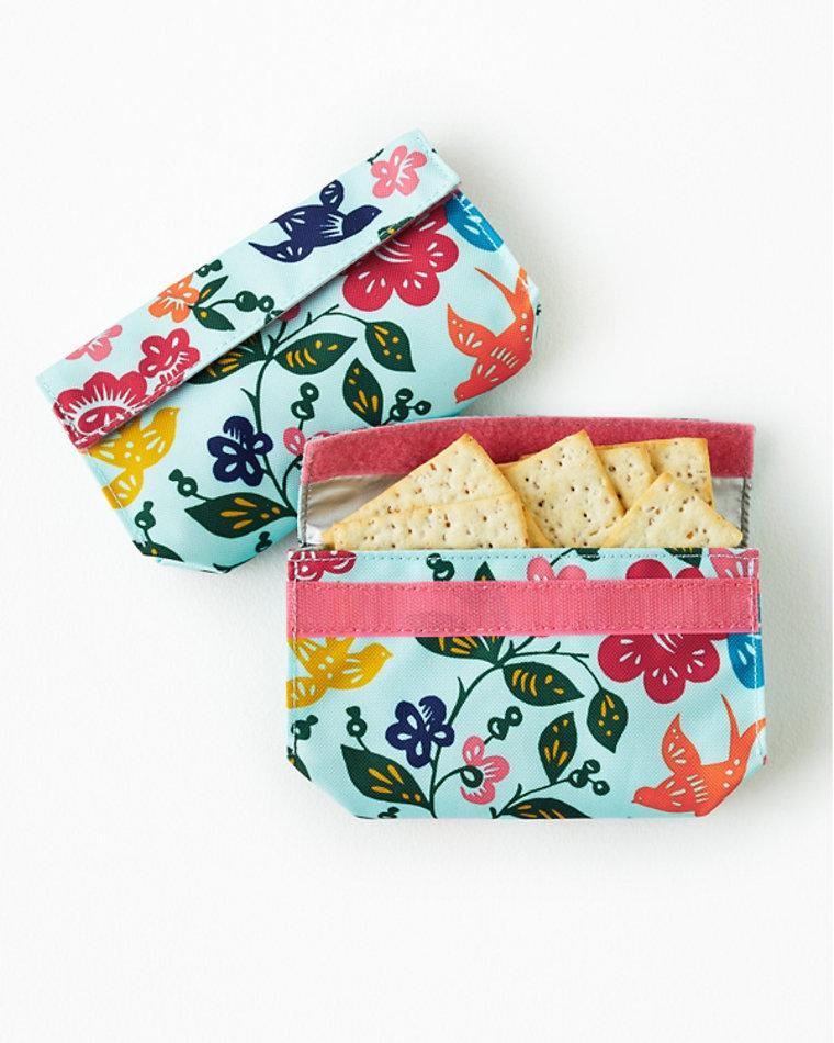 Garnet Hill Reusable Eco Snack Bags