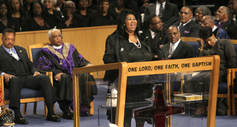Thousands Gather For Funeral Of Rosa Parks