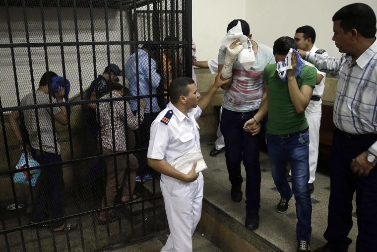 Image: Egytpian Arrests for Inciting Debauchery