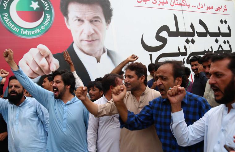 Image: Imran Khan elected PM
