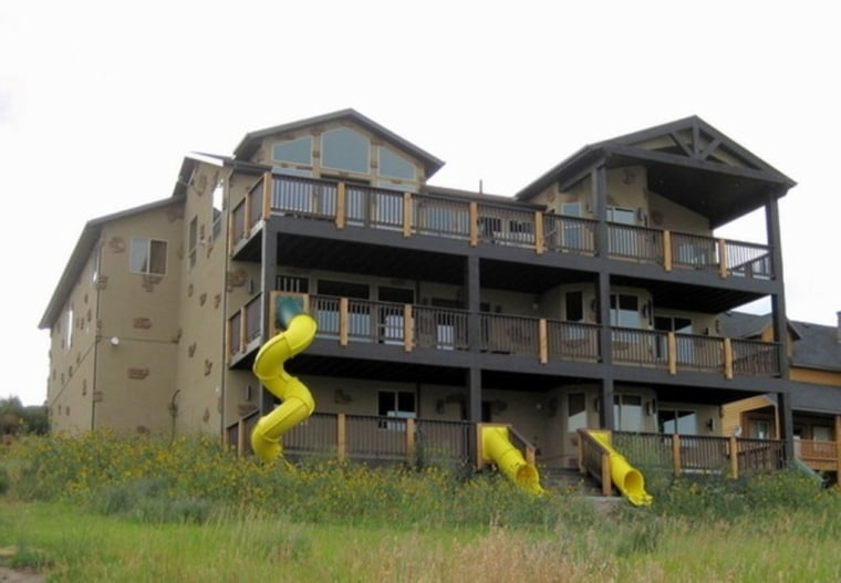 Houses with slides