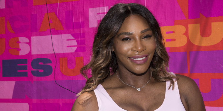 Serena Williams opened up about some postpartum body image issues she has faced.