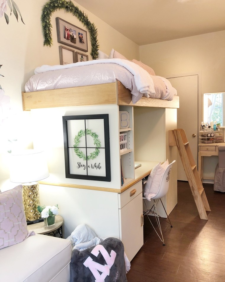 Dorm Room Makeovers: Dorm Room Before And After: See This Space Go From Gloomy