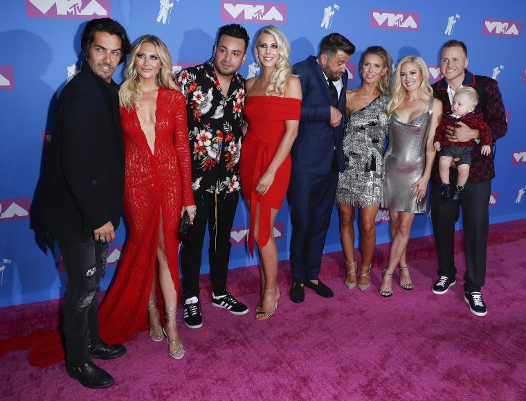 """The Hills"" reunion at the 2018 MTV VMAs"