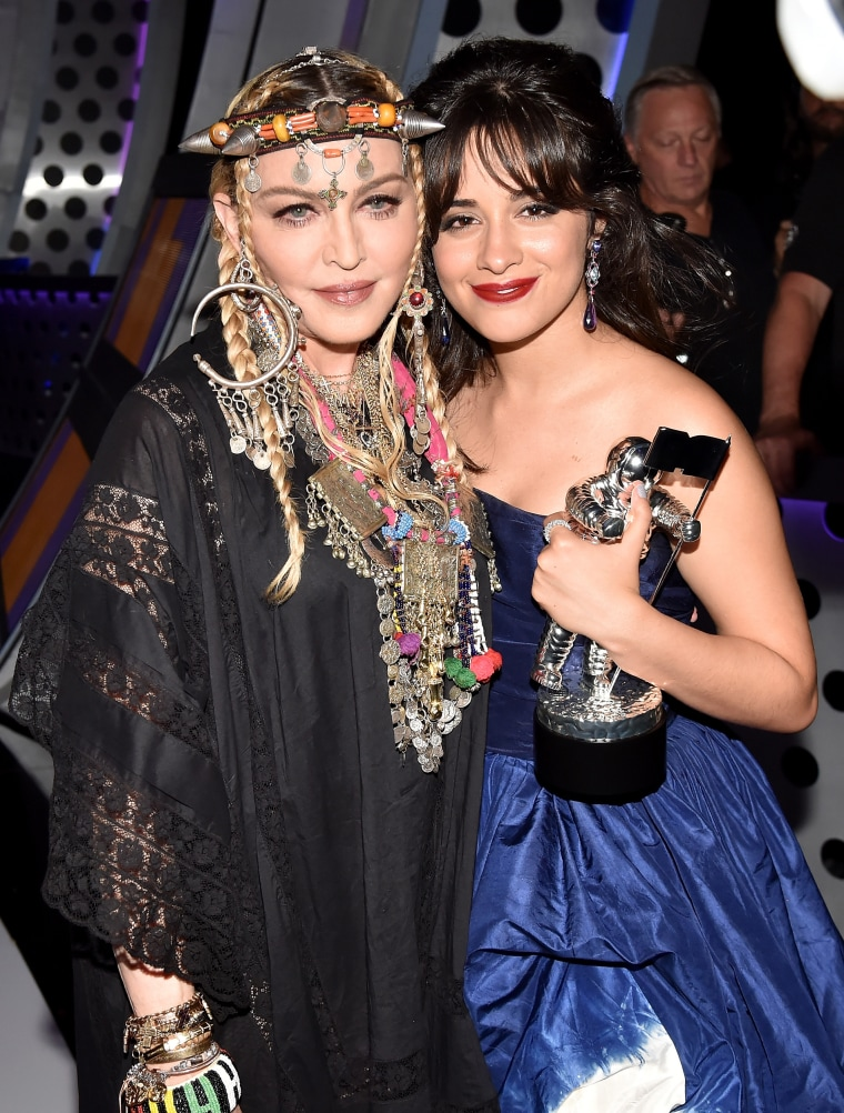 Madonna, Camila Cabello at 2018 MTV VMAs