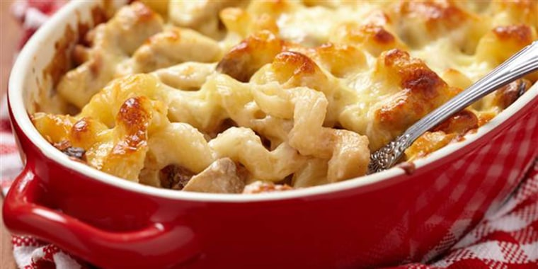 One-Pan No-Boil Baked Macaroni and Cheese