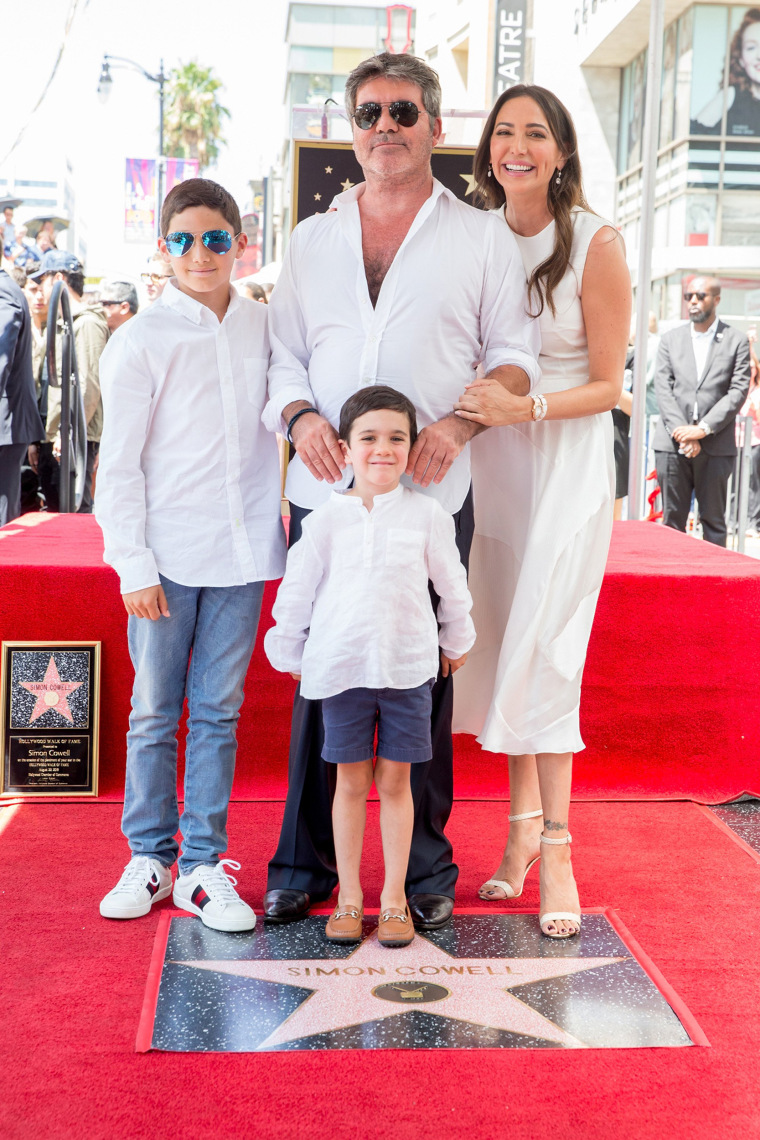 Image: Simon Cowell Honored With Star On The Hollywood Walk Of Fame