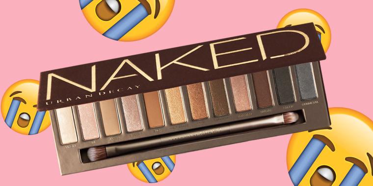 Bye-bye, Naked palette!