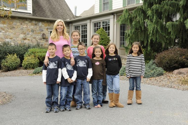 Kate Gosselin sent her kids off to school