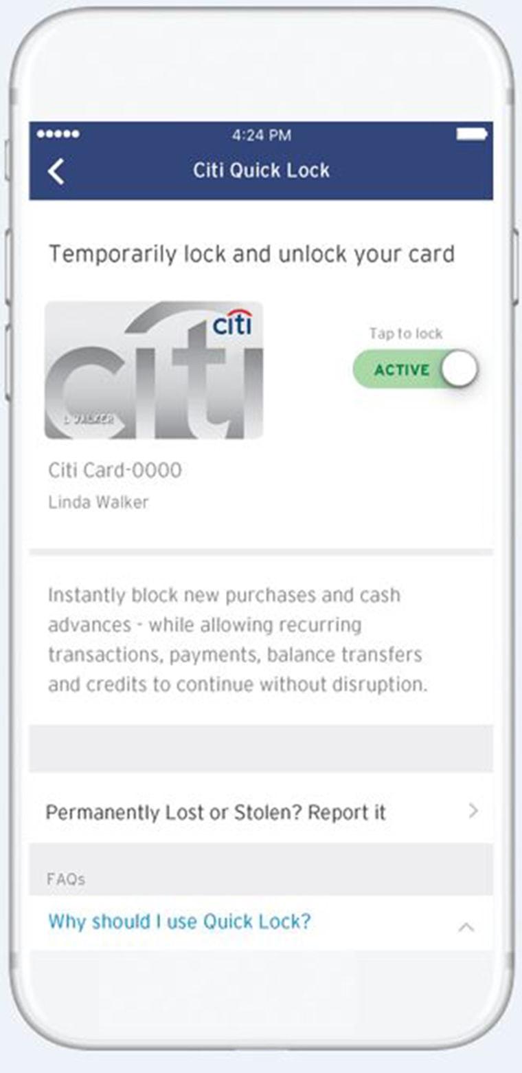 Citi Bank App