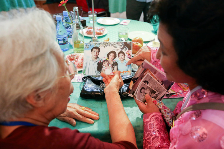 Image: South and North Koreans Hold Family Reunion Decades Since The War