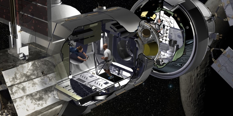 Image: Space Lunar Habitat
