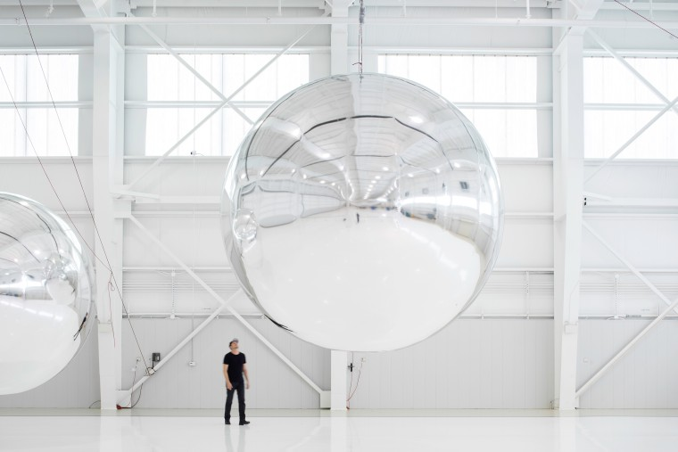 Trevor Paglen, Prototype for a Nonfunctional Satellite.