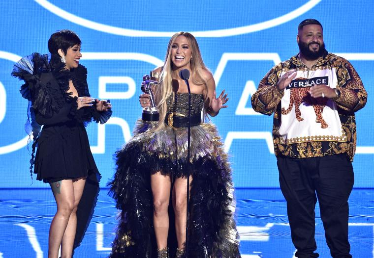Image: Cardi B, Jennifer Lopez, DJ Khaled