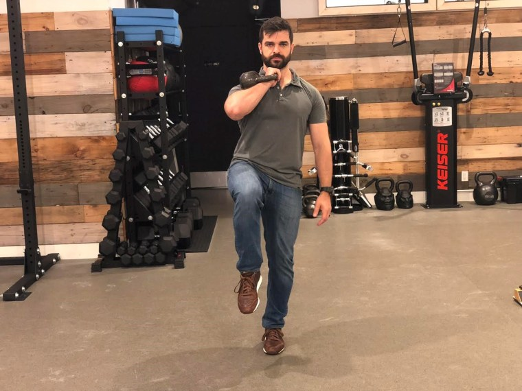 Stage 4 exercise: The Kettlebell