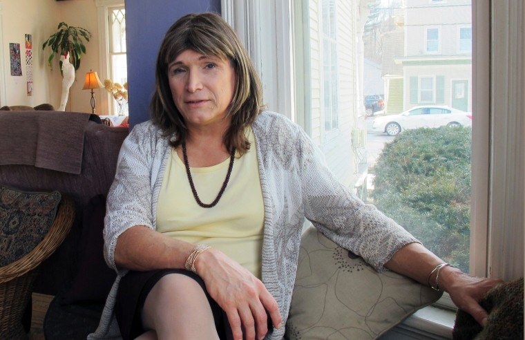 Christine Hallquist, a transgender utility executive seeking the Democratic nomination to run for governor of Vermont