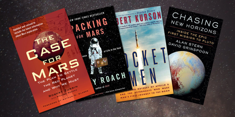 The 17 best books about space that let you see through the eyes of the great pioneers, the cosmic explorers and the most gifted science-minded storytellers.