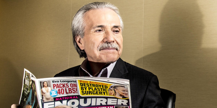 Image: David Pecker, Chairman and CEO of American Media, in New York, June 2017.