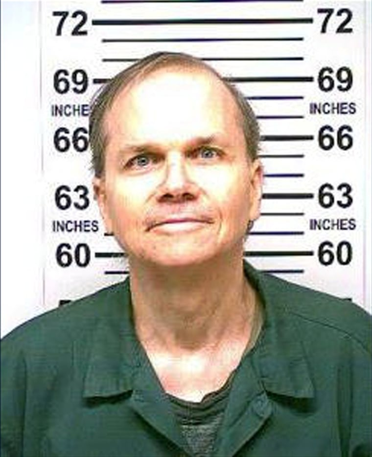 Image: New York State Department of Corrections and Community Supervision 2018 photo of Mark David Chapman who murdered John Lennon in 1980