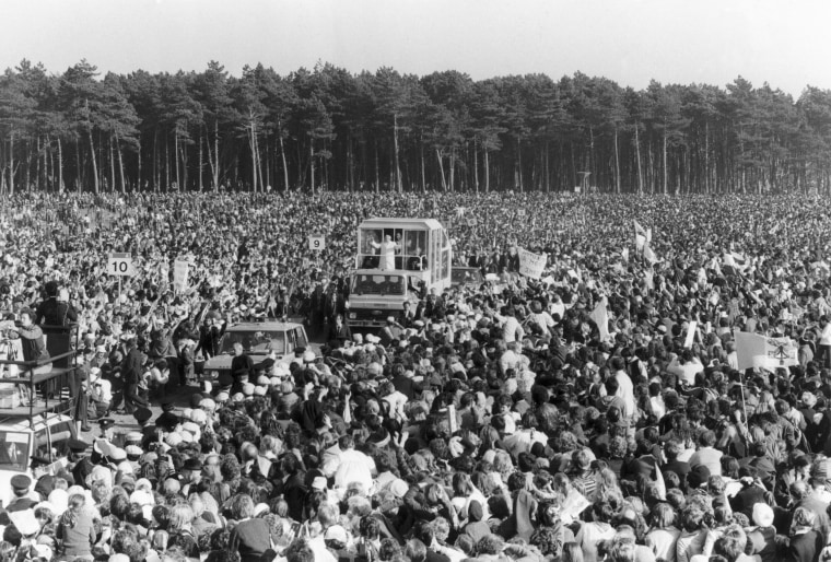 Image: Pope John Paul II visits Ireland in 1979