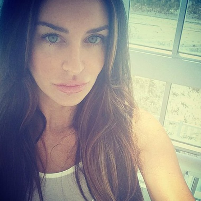 Ex-Playboy model Christina Carlin-Kraft was found strangled in a condo in Ardmore, Pennsylvania on Wednesday.