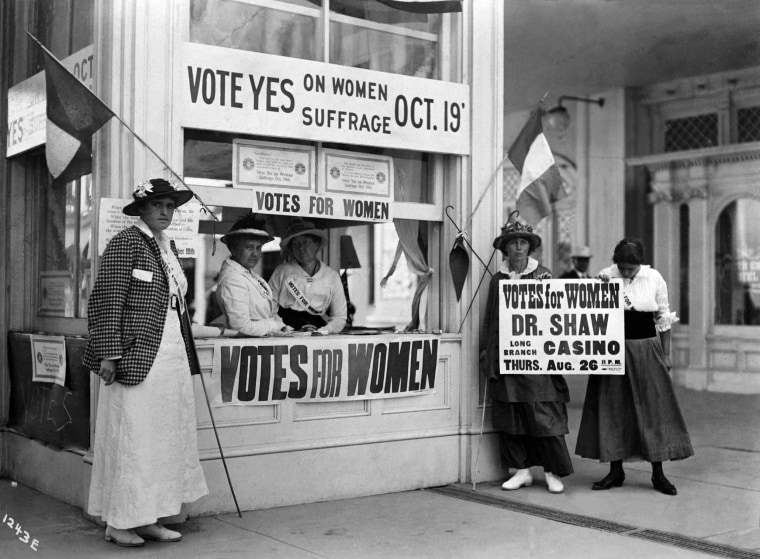Image: Women's Suffrage