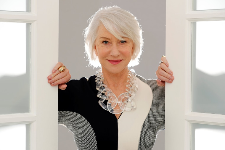 "Image: Actress Helen Mirren poses for a portrait in promotion of her role playing the heiress to the Winchester fortune in the upcoming film ""Winchester"" in Los Angeles"