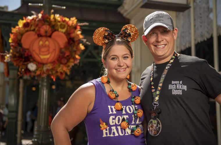 In addition to Halloween merchandise, Walt Disney World also used the Halloween season to unveil a new collection of Haunted Mansion apparel and accessories.