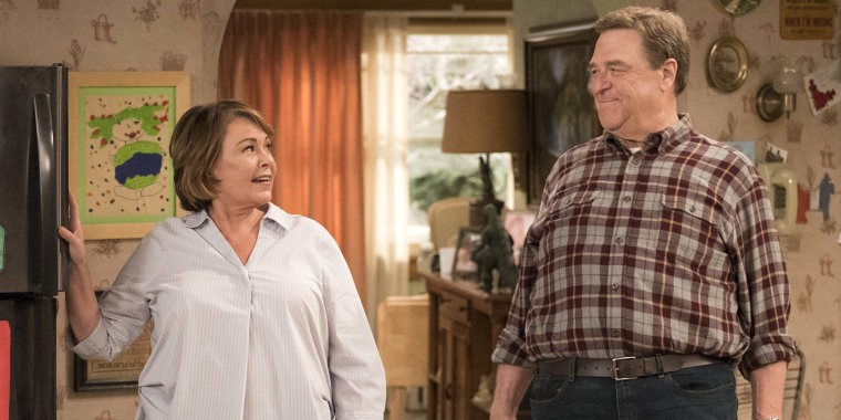 John Goodman and Roseanne