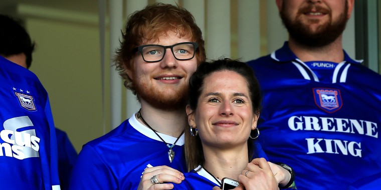 Ed Sheeran has strongly hinted that he and Cherry Seaborn married in secret