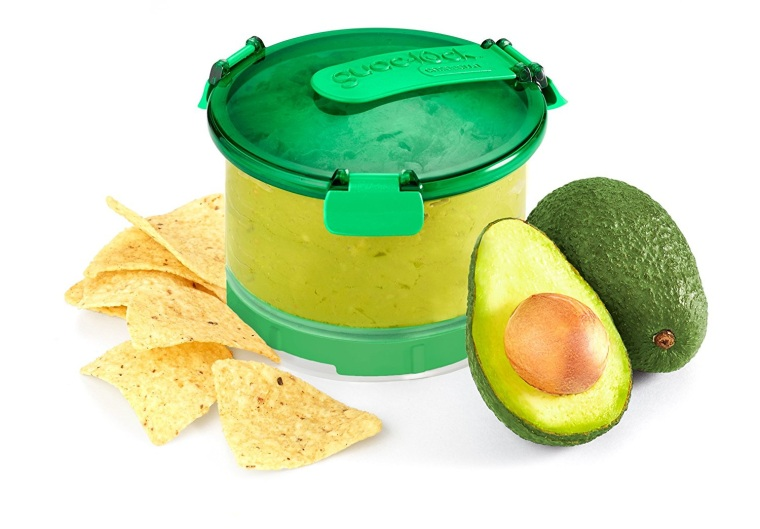 Best guacamole container: Guac lock container on Amazon