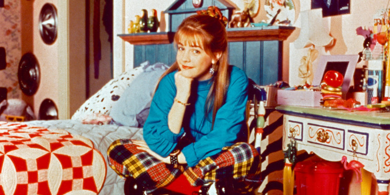 "Melissa Joan Hart in ""Clarissa Explains It All"""