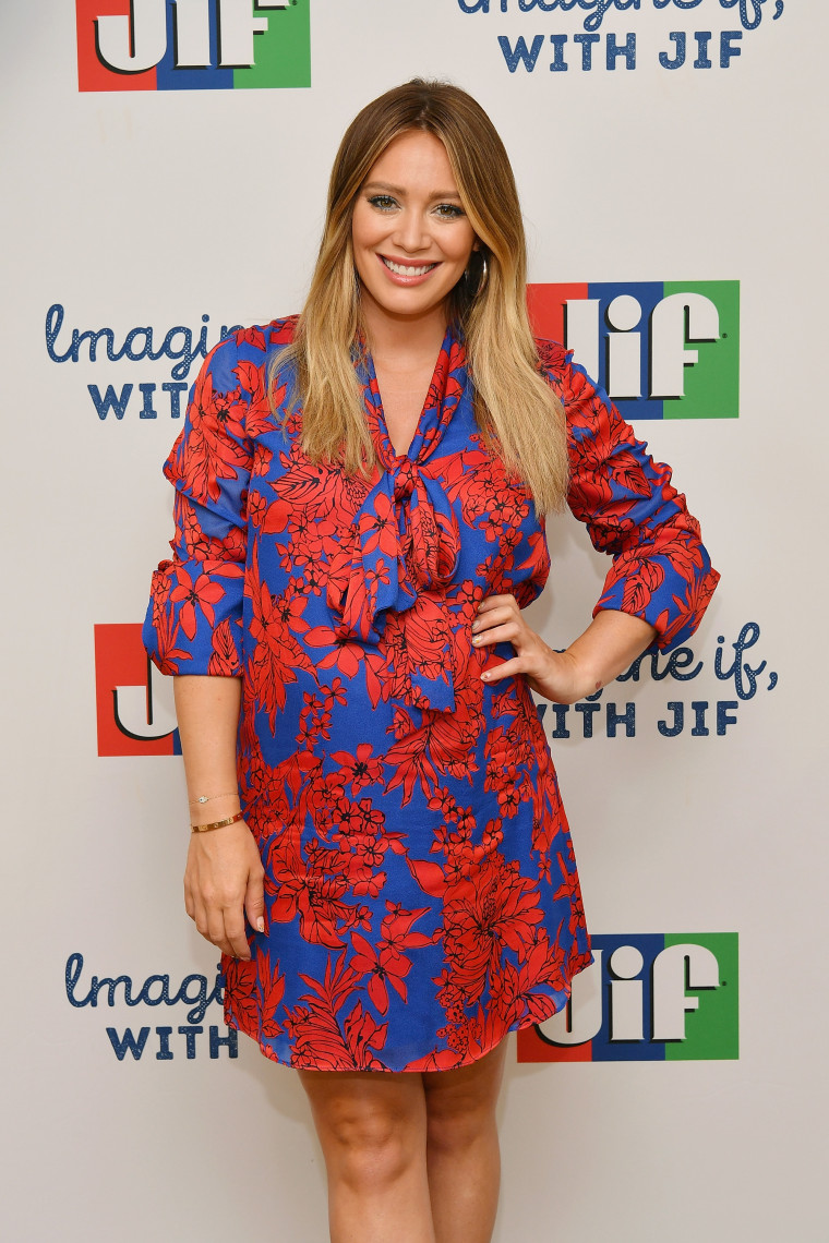 """Hilary Duff Announces the """"Imagine If, With Jif"""" Contest Kick Off with Jif(R) Peanut Butter"""