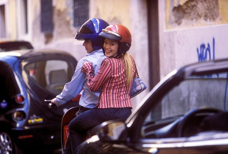 LIZZIE MCGUIRE MOVIE, Yani Gellman, Hilary Duff, 2002, (c) Walt Disney/courtesy Everett Collection