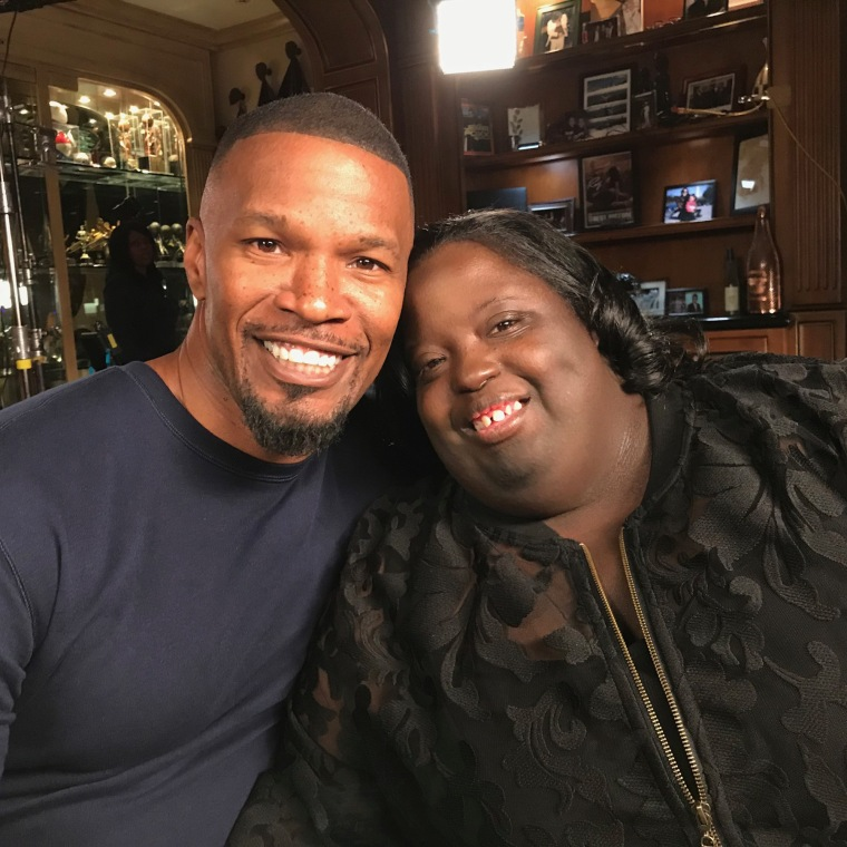Jamie Foxx and his sister