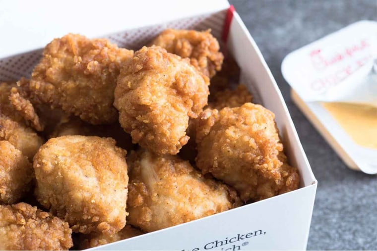Under the promotion, customers can choose between pressure-cooked or grilled chicken nuggets.