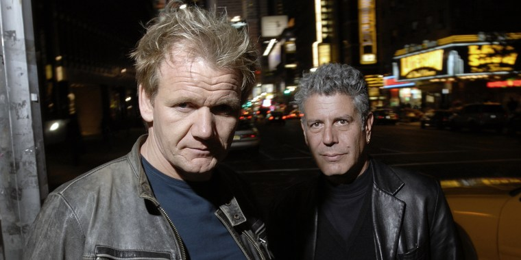 USA - Chef - Gordon Ramsay with Anthony Bourdain