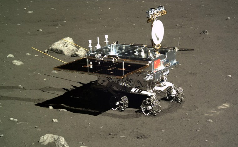 Image: China's Yutu moon rover